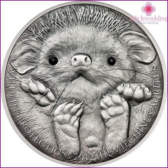 Silbermünzensammlung
