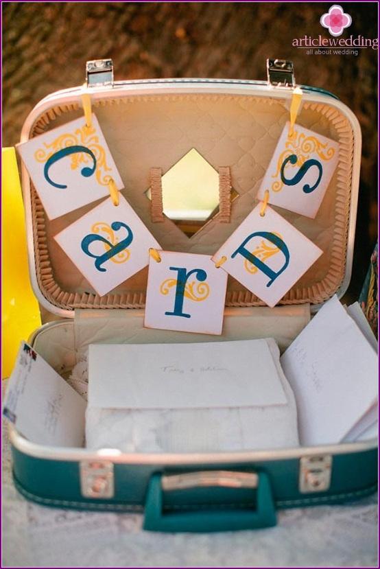 Wedding accessory card case