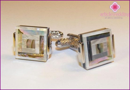 Cufflinks for husband