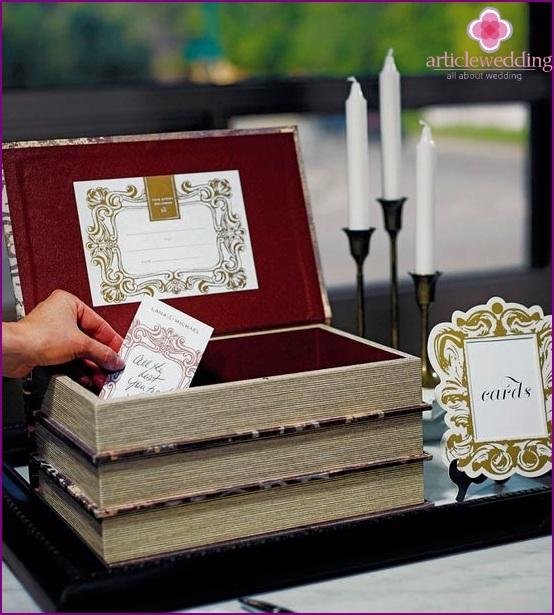 Hochzeitsbox für Geld