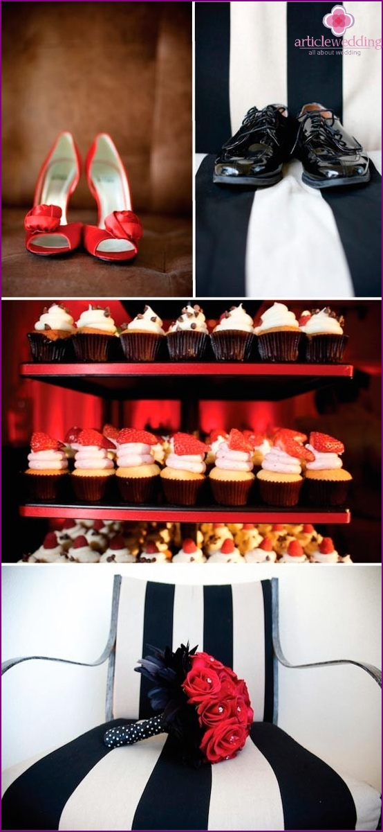 Bright Rock and Roll Wedding Shoes