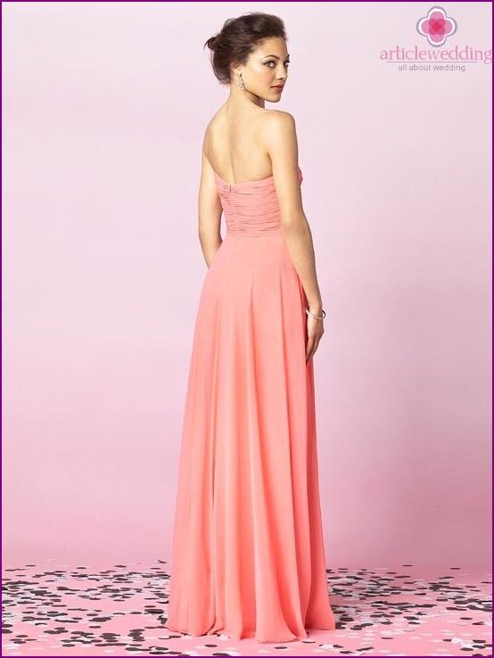 Pink witness dress