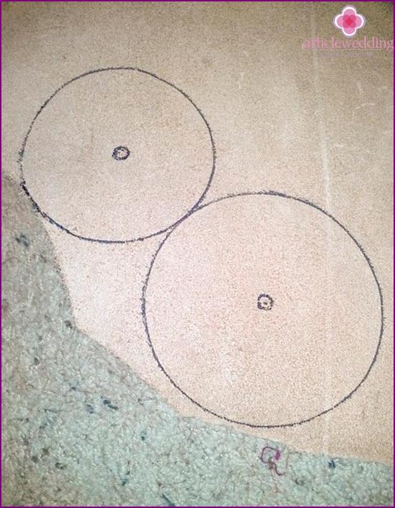 Drawing prospective light bulb holes