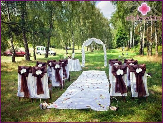 Sweet Chocolate Wedding