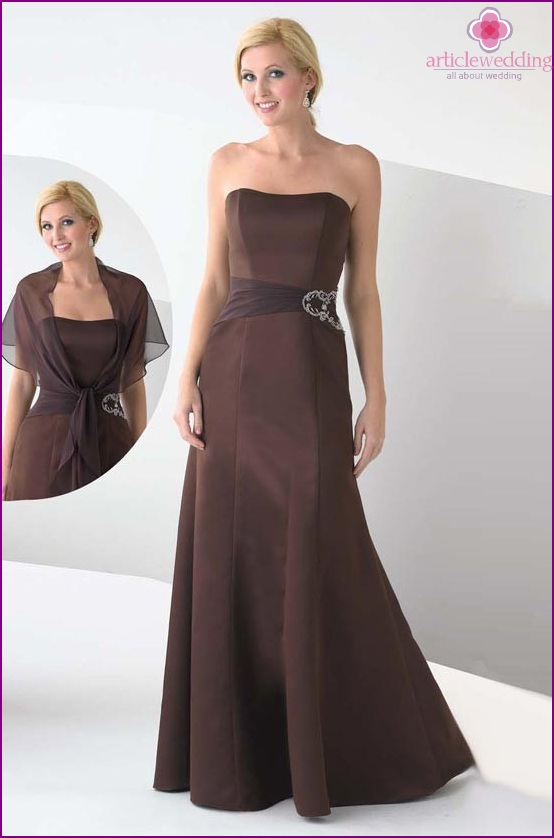 Chocolate Wedding Outfit