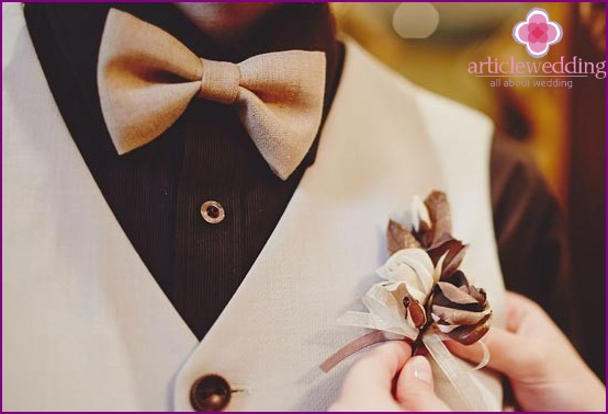 Chocolate Buttonhole
