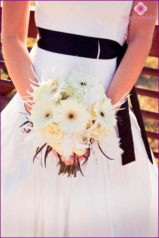 Chocolate Wedding Flowers