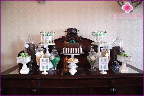 Chocolate Wedding Decor