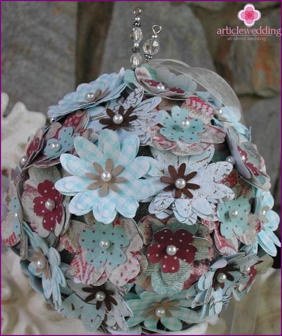 Bunter Blumenball