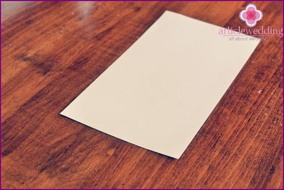 We select a piece of watercolor paper