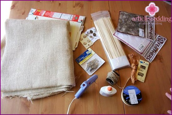 Materials for work