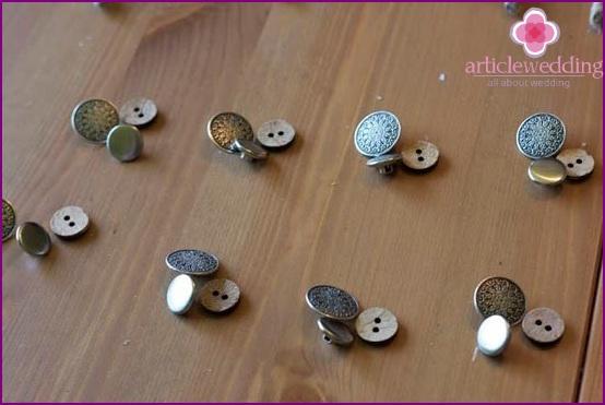 Button preparation