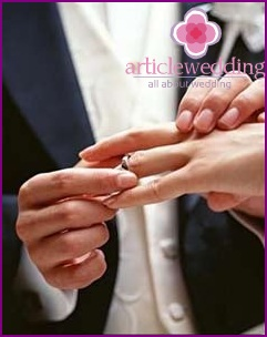 The tradition of exchanging wedding rings