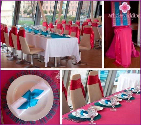 Hochzeitsfarbkombinationen