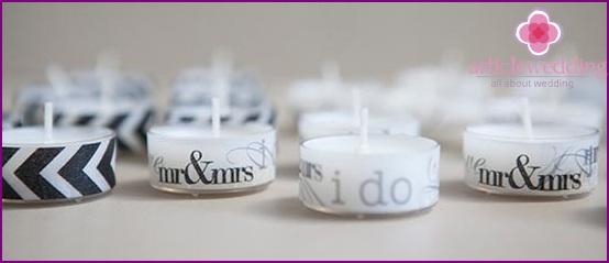 Beautiful designer candles