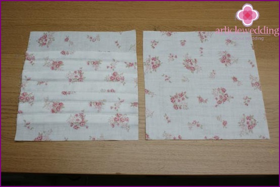 Compare two pieces of fabric