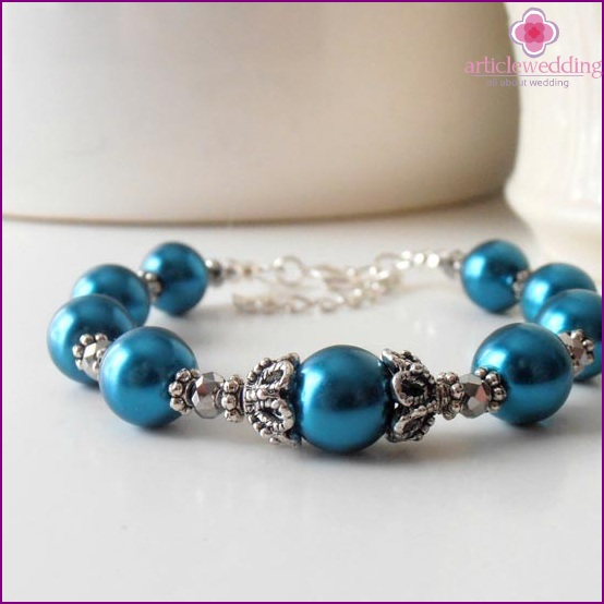 Stylish bridal bracelet