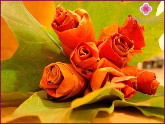 Maple roses