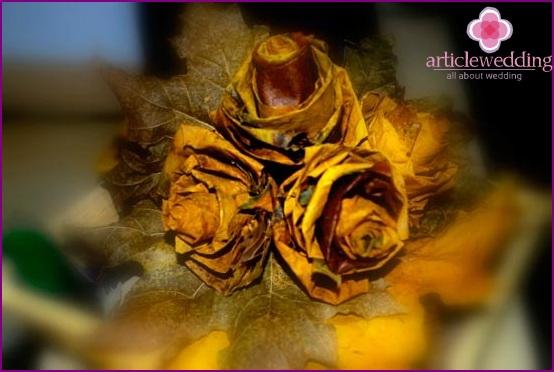 Maple Bridal Bouquet