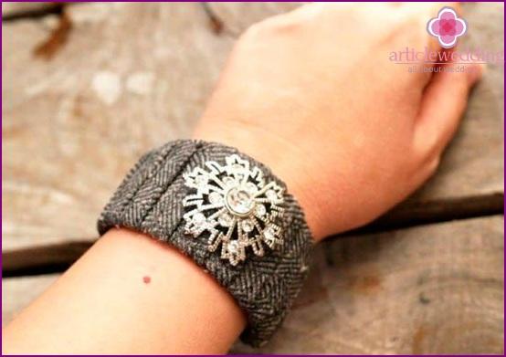 Stylish bracelet for a wedding