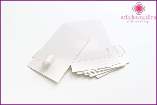 We select paper for cards