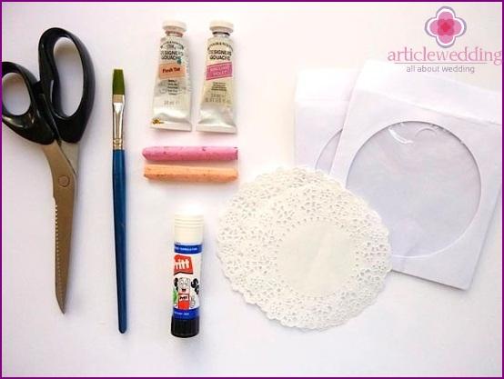 Prepare materials