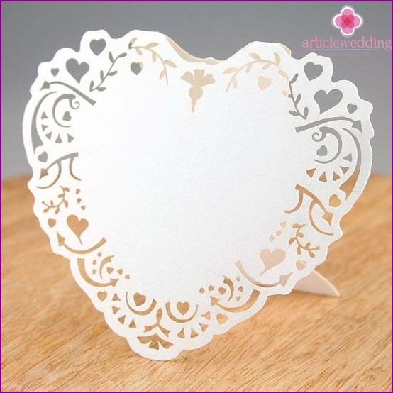 Aerial lace boarding card