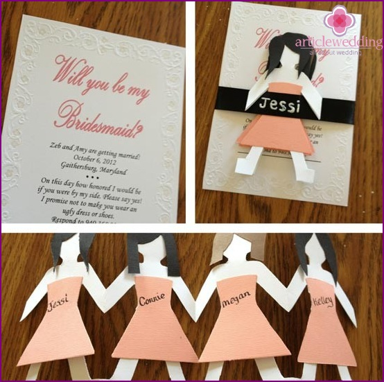 Invitations for girlfriends