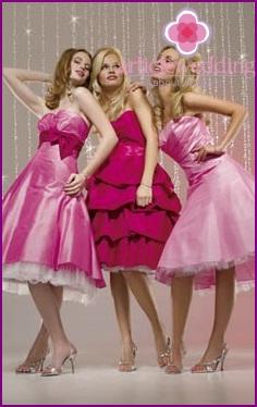 Dresses for bridesmaids