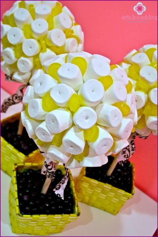 Marshmallow karkkiaine