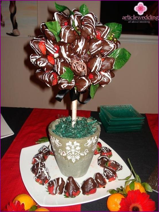 Suklaa topiary