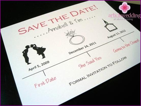 Guest Wedding Invitation