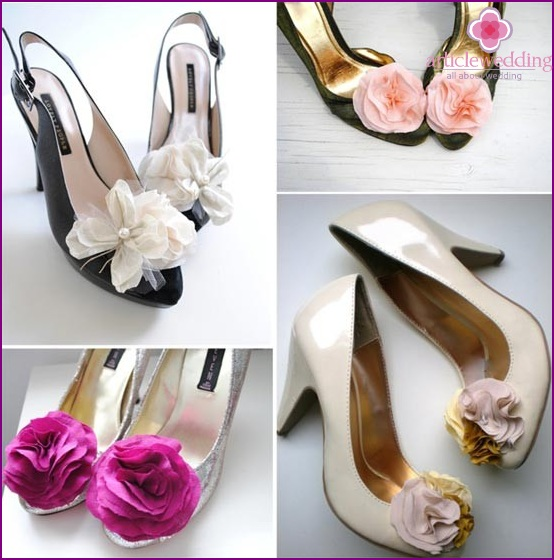 Ideas for wedding shoes clips