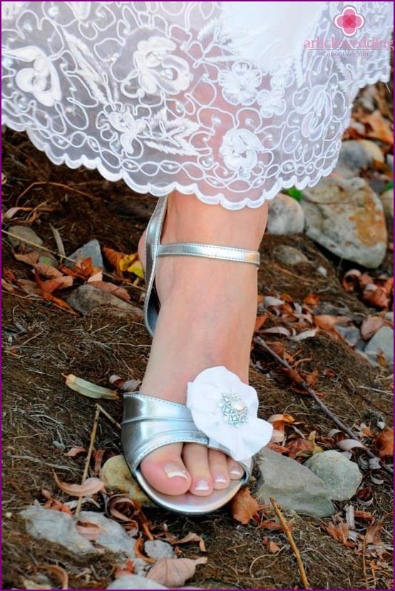 Lovely Wedding Sandals