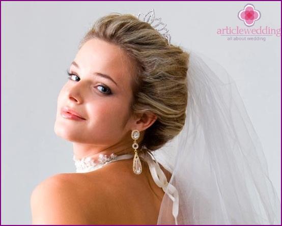 Jewelry with veil