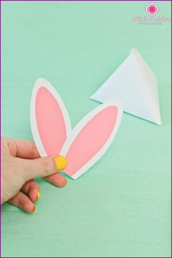 Let's make rabbit ears