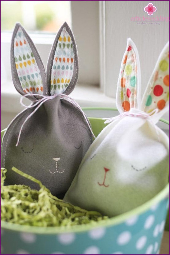Funny bunny bags