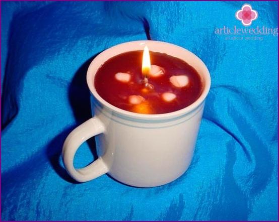 Original DIY candle