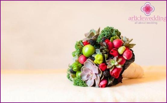 Original bouquet of greenery