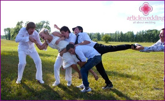 Bride stealing