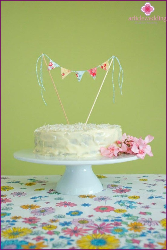 Cake Decorating Flags