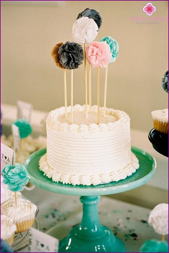 Fabric Accessories for Cake