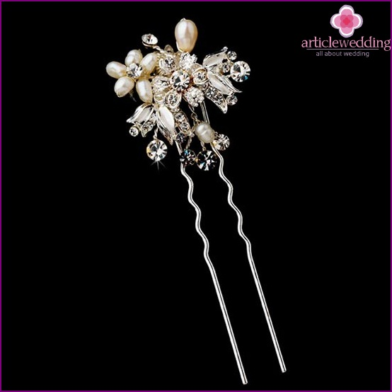 Luxury hair clips as a gift