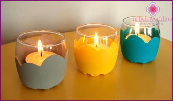 Bright candlesticks