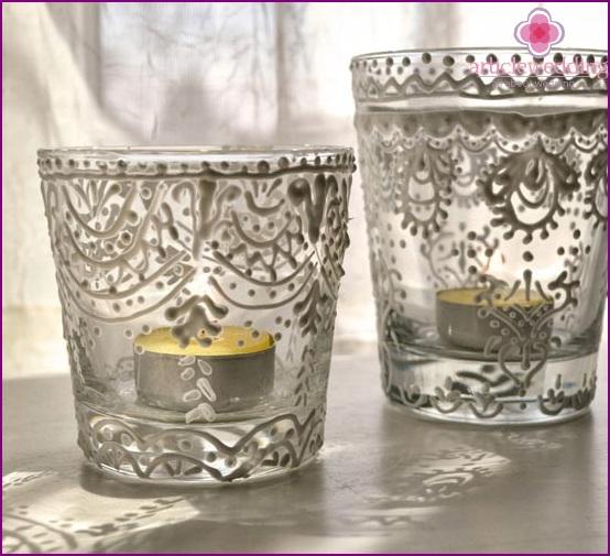 Wedding candle holders