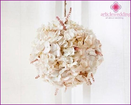 Schöner Blumenball
