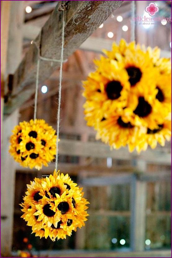 Kreative Luftballons im Hochzeitsdekor