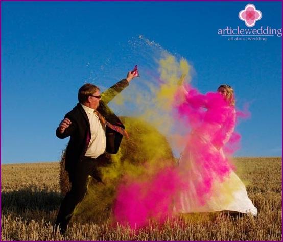 Destruction of wedding dresses