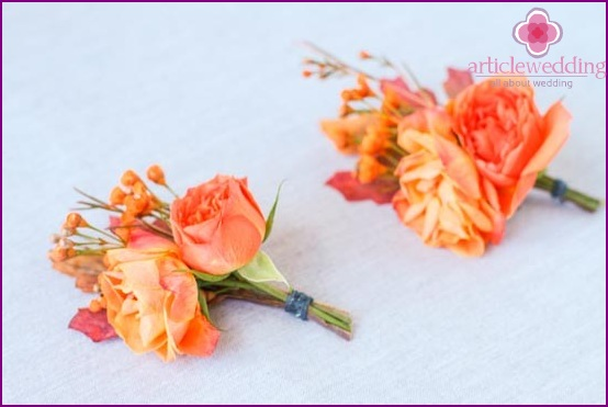 Buttonholes are ready