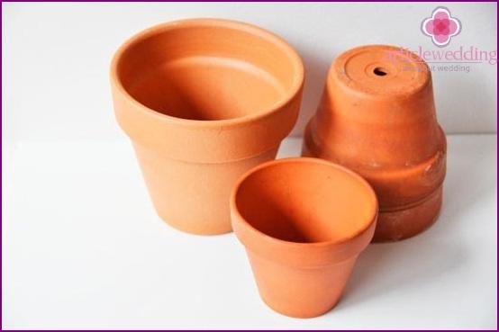 Prepare the pots